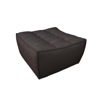 N701 sofa - footstool - dark grey