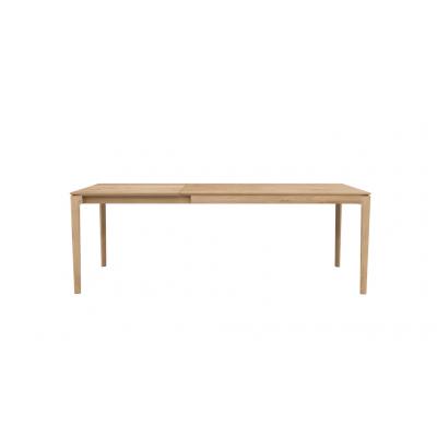 TABLE BOK EN CHENE 140-220X90X76