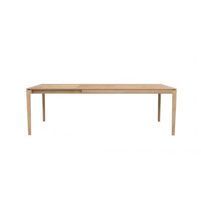 TABLE BOK EN CHENE 160-240X90X76