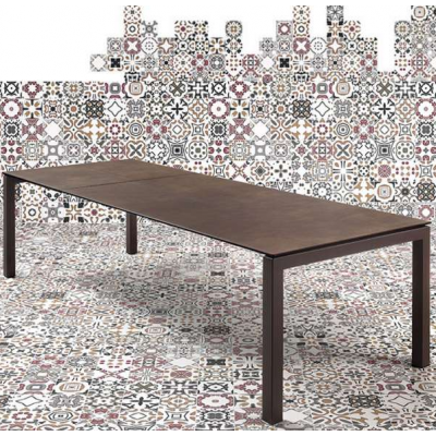 TABLE JULIA EXTENSIBLE 180-260X90cm CERAMIQUE