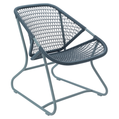 FAUTEUIL SIXTIES GRIS ORAGE