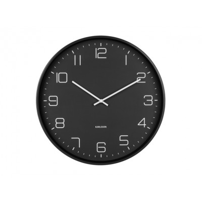 HORLOGE LOFTY NOIR