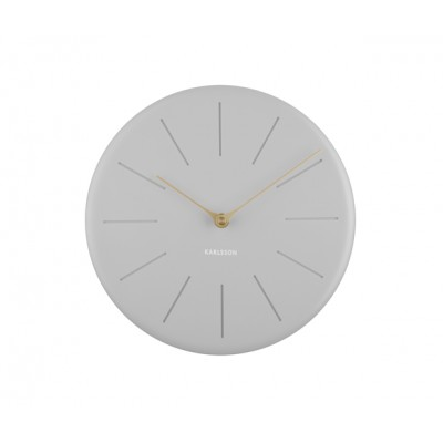 HORLOGE SOLE TRAITS GRIS CLAIR