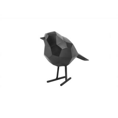 STATUE OISEAU SMALL MAT BLACK