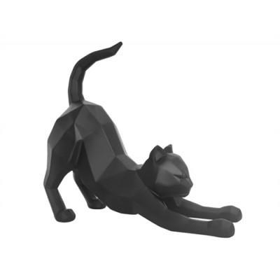 STATUE ORIGAMI CAT STRECHING