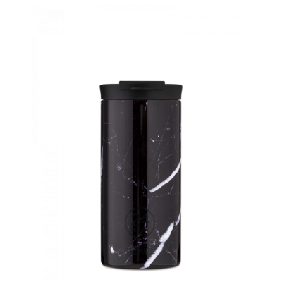 TRAVEL TUMBLER 600ML BLACK MARBLE