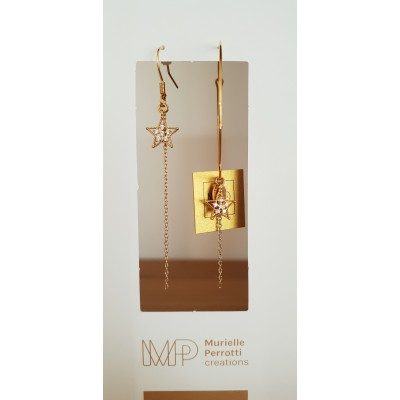 CREOLE GRANDE - ETOILE ASYMETRIQUE GOLD