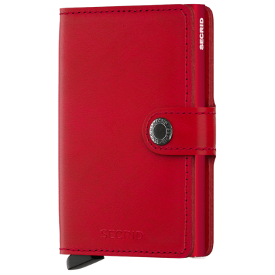 PORTE-CARTES MINIWALLET ORIGINAL RED-RED