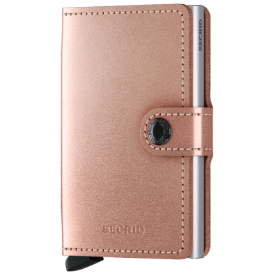 PORTE-CARTES MINIWALLET METALLIC ROSE
