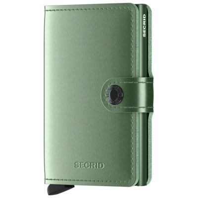 PORTE-CARTES MINIWALLET METALLIC GREEN