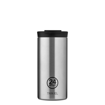 TRAVEL TUMBLER 600ML STEEL