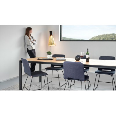 TABLE FLOAT PM1 CHÊNE MASSIF 100X200/300CM