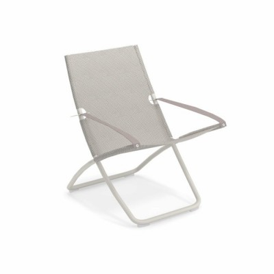 DECK CHAIR SNOOZE BLANC/GHIACCIO ICE