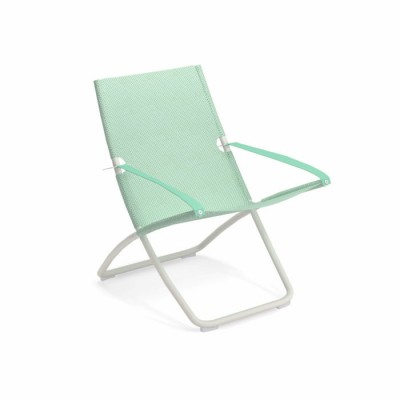 DECK CHAIR SNOOZE BLANC/CITRONELLA LEMONGRASS
