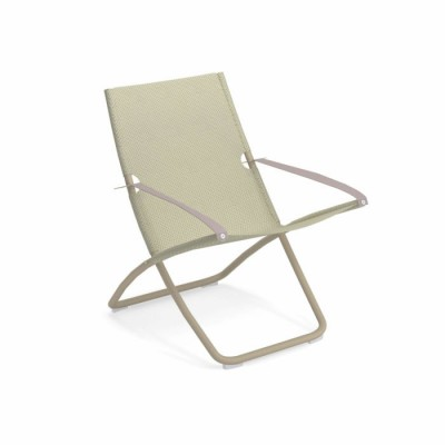 DECK CHAIR SNOOZE BRONZE/BEIGE