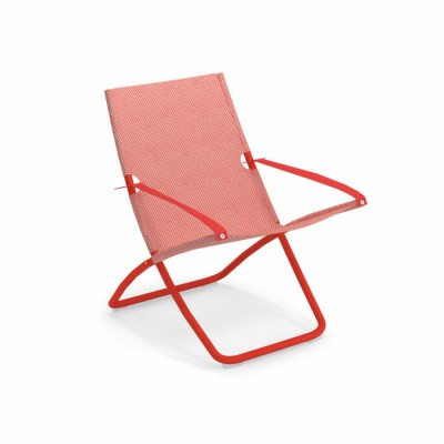 DECK CHAIR SNOOZE ROUGE/ROSSO RED