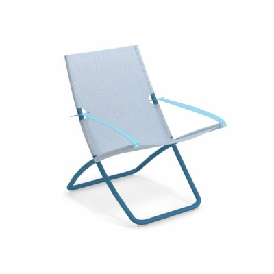 DECK CHAIR SNOOZE AZUR/CELESTE SKY BLUE