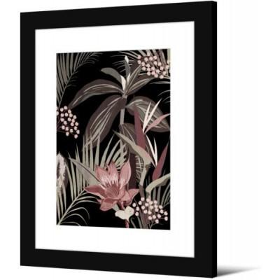 IMAGE ENCADREE NOIR 50 x 70 cm