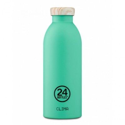 CLIMA BOTTLE 50 CL MINT - WOODEN LID