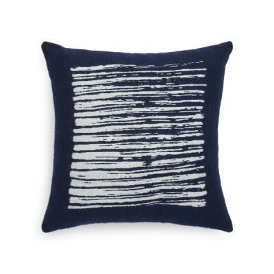 COUSSIN CARRE LINES NAVY 45X45CM