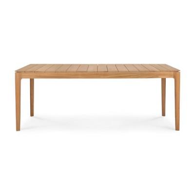 TABLE BOK D'EXTERIEUR EN TECK 200x100X76CM