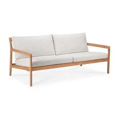 Teak Jack outdoor sofa - off white