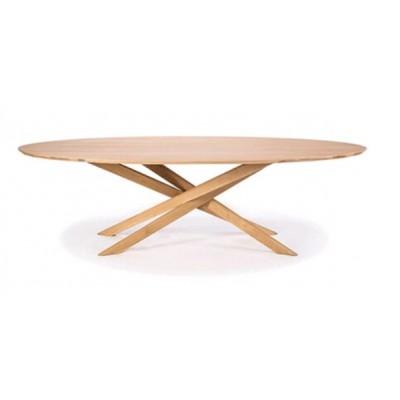 TABLE BASSE EN CHENE  MIKADO 143X67X42CM