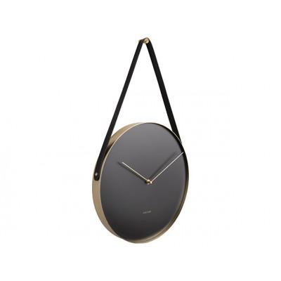 Horloge Belt métal noir