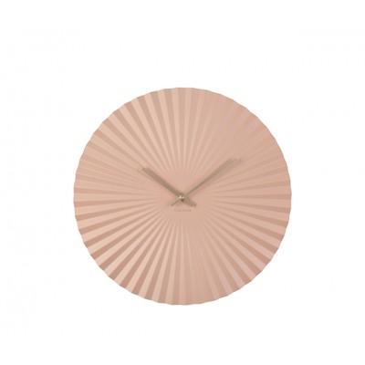 Horloge Sensu métal rose pâle