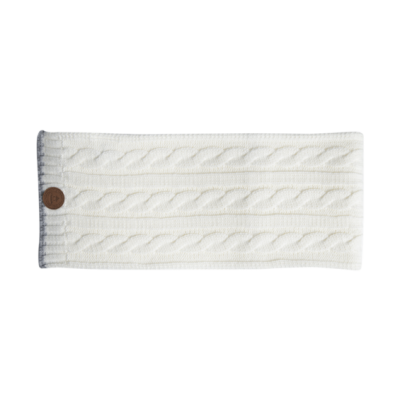 ECHARPE CREAMY GIN WHITE