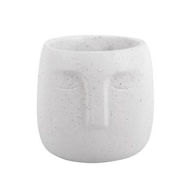 Plant Pot Face Cement