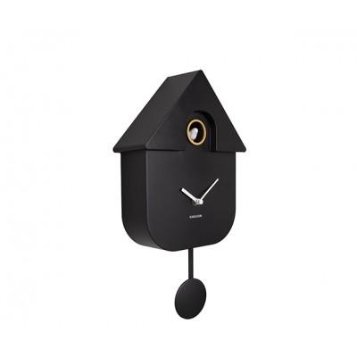 Horloge Modern Cuckoo ABS noir