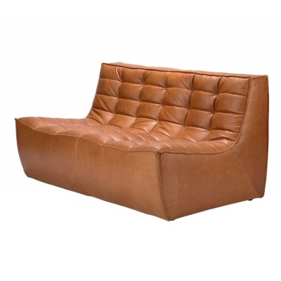 N701 SOFA - 2 PLACES - OLD SADDLE