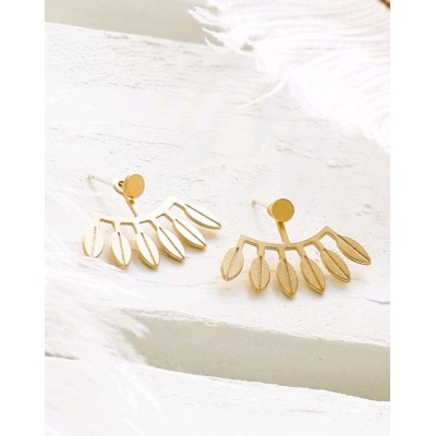 BOUCLES D'OREILLES AMAZONAS EAR JACKETS OR