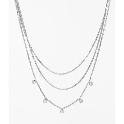 COLLIER-NECKLACE - zirconium