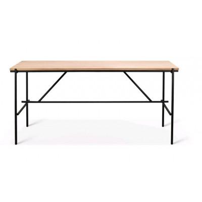 Oak Oscar desk - varnished