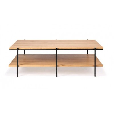 TABLE BASSE RISE CHENE 120X70X37cm