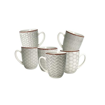 Coffret 6 mugs Slow