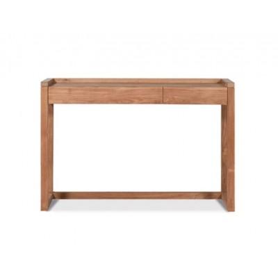 Teak Frame desk - 2 drawers
