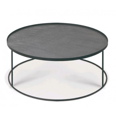 Round tray coffee table - XL (tray not included)