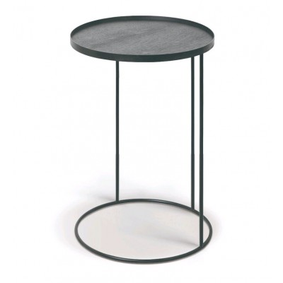 Round tray side table - S (tray not included)
