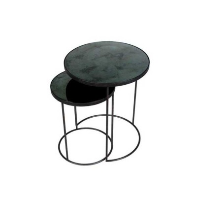 Charcoal Nesting side table - set of 2