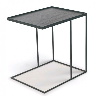Rectangular tray side table - L (tray not included)