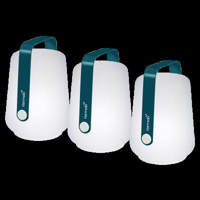 BALAD LOT 3 LAMPES H12 BLEU ACAPULCO
