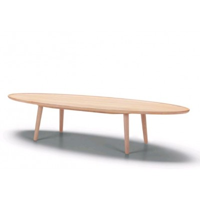 TABLE BASSE H.38 X 160 x 60 CM EN CHÊNE