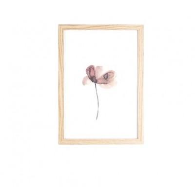 CADRE PHOTO EN BOIS FLOWER