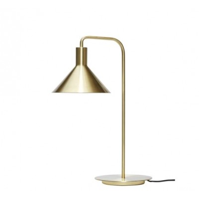 LAMPE DE TABLE METAL LAITON