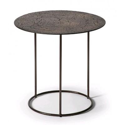 Celeste side table - lava - whisky