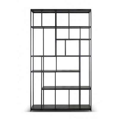 Teak Studio black rack - varnished