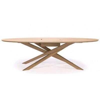 Oak Mikado meeting table - varnished